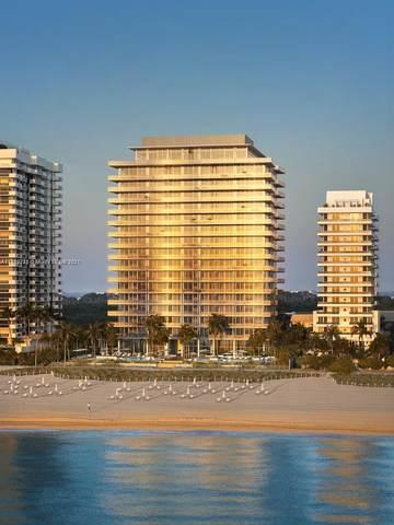 5757 Collins Ave #607, Miami Beach, FL 33140 (MLS #A11115732) :: Albert Garcia Team