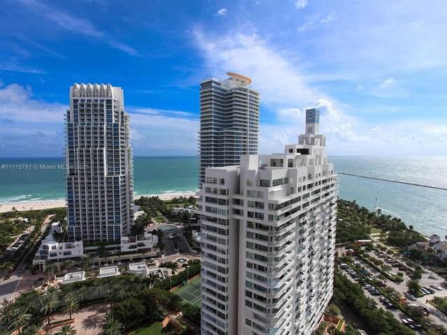 400 S Pointe Dr #1610, Miami Beach, FL 33139 (MLS #A11115781) :: Albert Garcia Team