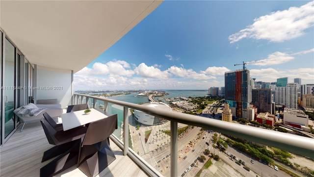 888 Biscayne Blvd #3503, Miami, FL 33132 (MLS #A11115848) :: Berkshire Hathaway HomeServices EWM Realty