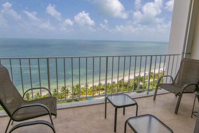 881 Ocean Dr 16F, Key Biscayne, FL 33149 (MLS #A11117018) :: KBiscayne Realty