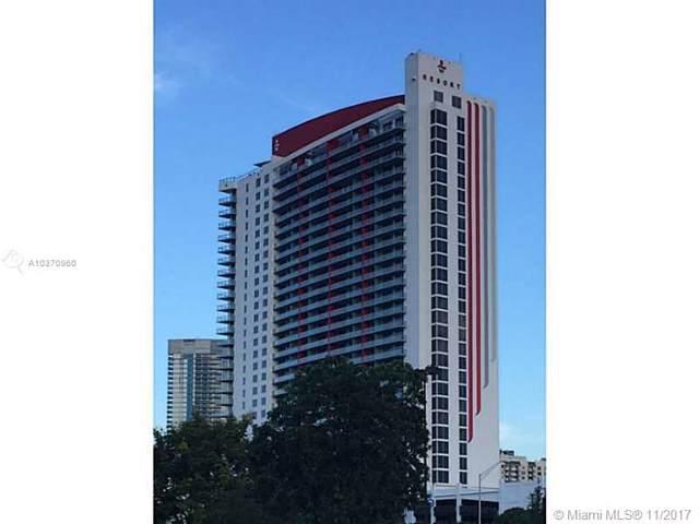 2602 E Hallandale Beach Bl R608, Hallandale Beach, FL 33309 (MLS #A10370960) :: Carole Smith Real Estate Team