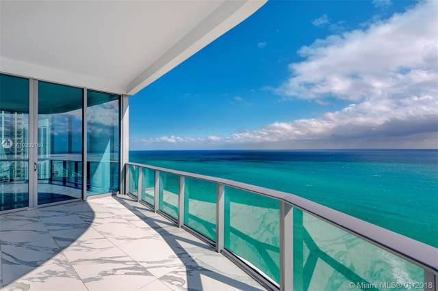 17475 Collins Ave #2301, Sunny Isles Beach, FL 33160 (MLS #A10399150) :: Grove Properties
