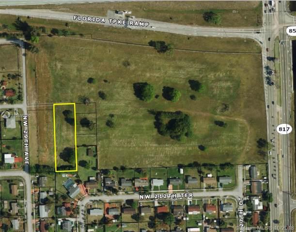 2861 NW 213th St, Miami Gardens, FL 33056 (MLS #A10555690) :: Berkshire Hathaway HomeServices EWM Realty