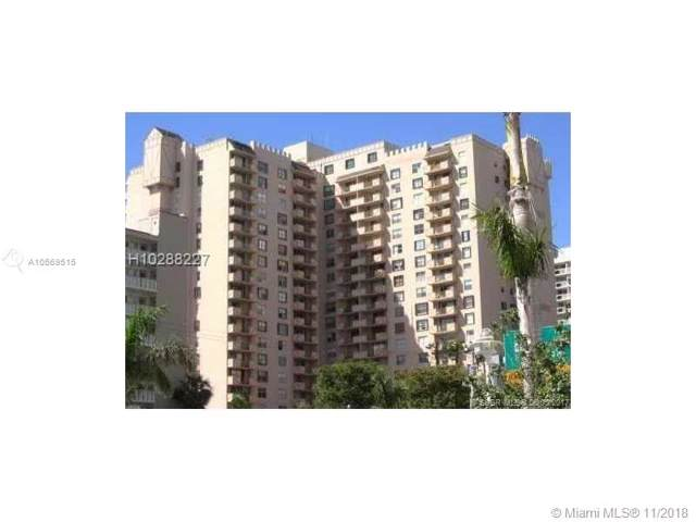 1865 S Ocean Dr 17N, Hallandale, FL 33009 (MLS #A10569515) :: Berkshire Hathaway HomeServices EWM Realty