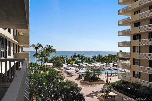 9801 Collins Avenue 6H, Bal Harbour, FL 33154 (MLS #A10584050) :: Berkshire Hathaway HomeServices EWM Realty