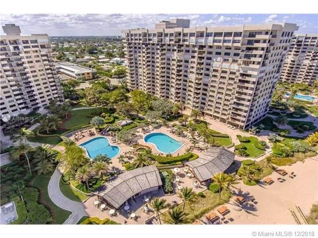 5000 N Ocean Blvd #812, Lauderdale By The Sea, FL 33308 (MLS #A10584626) :: GK Realty Group LLC