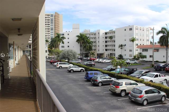3177 S Ocean Dr #214, Hallandale, FL 33009 (MLS #A10588229) :: Ray De Leon with One Sotheby's International Realty