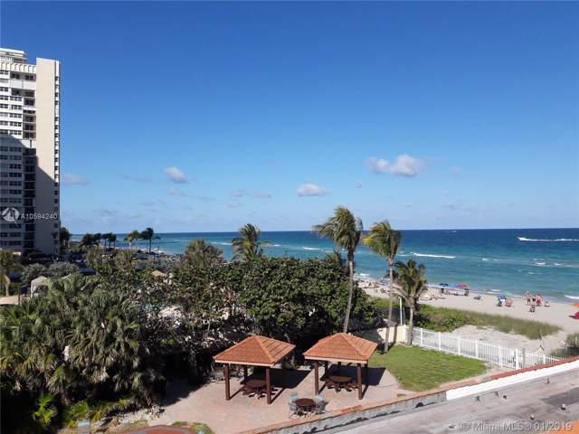 1936 S Ocean Dr 17A, Hallandale, FL 33009 (MLS #A10594240) :: Berkshire Hathaway HomeServices EWM Realty