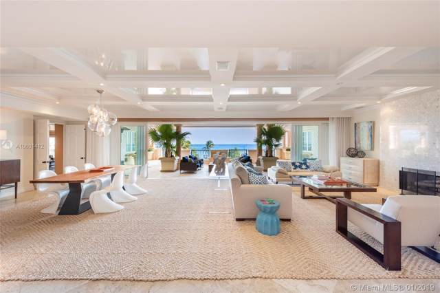 7223 Fisher Island Dr #7223, Miami Beach, FL 33109 (MLS #A10601412) :: Ray De Leon with One Sotheby's International Realty