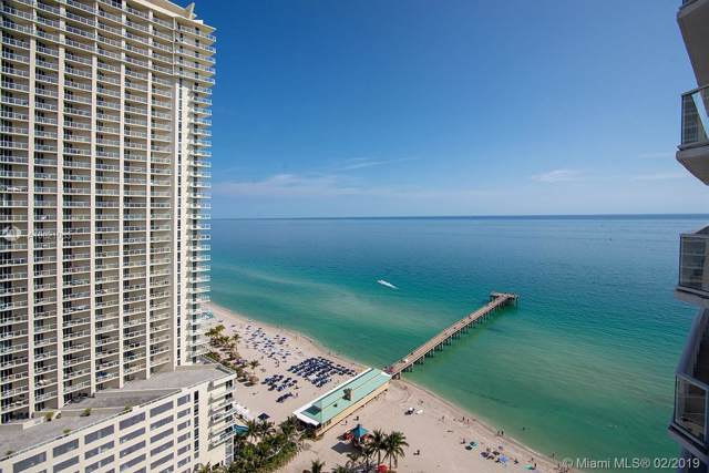 16485 Collins Ave #2535, Sunny Isles Beach, FL 33160 (MLS #A10621063) :: Grove Properties