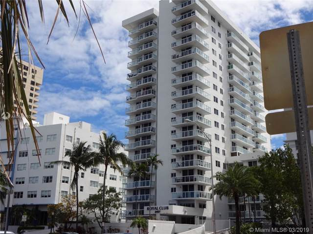 2457 Collins Ave #401, Miami Beach, FL 33140 (MLS #A10641693) :: The Teri Arbogast Team at Keller Williams Partners SW