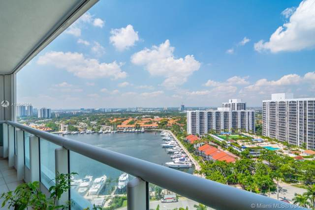 21055 Yacht Club Dr #1904, Aventura, FL 33180 (MLS #A10646288) :: Green Realty Properties