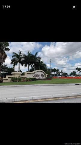 151 SW 135th Ter 313T, Pembroke Pines, FL 33027 (MLS #A10666716) :: Grove Properties