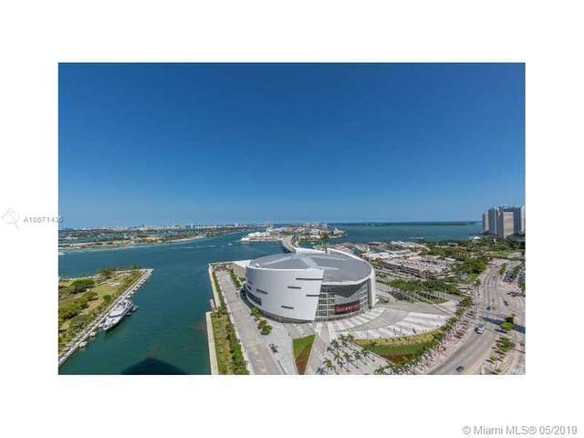888 Biscayne Blvd #3205, Miami, FL 33132 (MLS #A10671436) :: The Howland Group