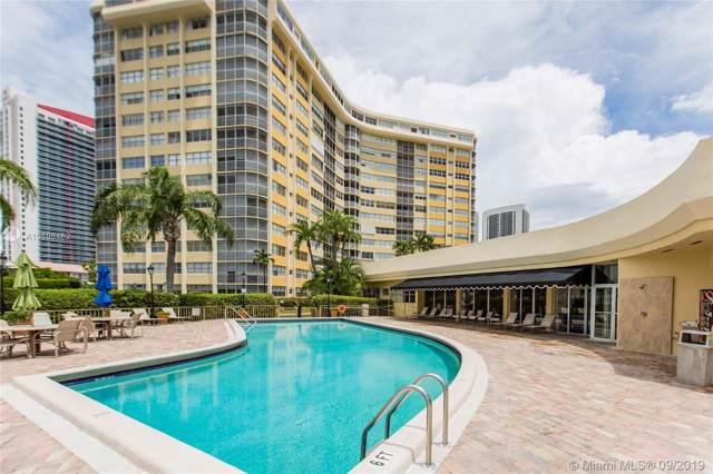 100 Golden Isles Dr #810, Hallandale, FL 33009 (MLS #A10698462) :: Berkshire Hathaway HomeServices EWM Realty