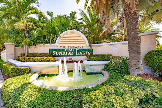 10315 NW 24th Pl #408, Sunrise, FL 33322 (MLS #A10698703) :: Grove Properties