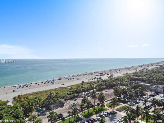2201 Collins Ave #1509, Miami Beach, FL 33139 (MLS #A10703196) :: Berkshire Hathaway HomeServices EWM Realty