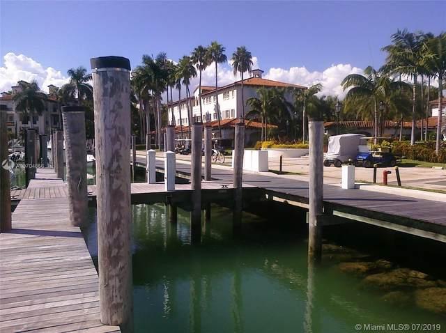 1 Fisher Island Dr Slip-31, Miami Beach, FL 33109 (MLS #A10704656) :: The Riley Smith Group