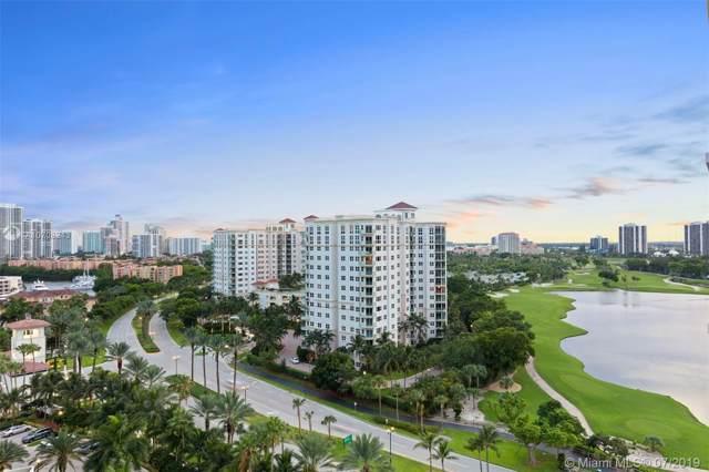 20185 E Country Club Dr #1404, Aventura, FL 33180 (MLS #A10708243) :: Grove Properties