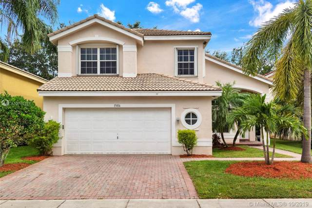 15816 SW 26th St, Miramar, FL 33027 (MLS #A10710767) :: THE BANNON GROUP at RE/MAX CONSULTANTS REALTY I