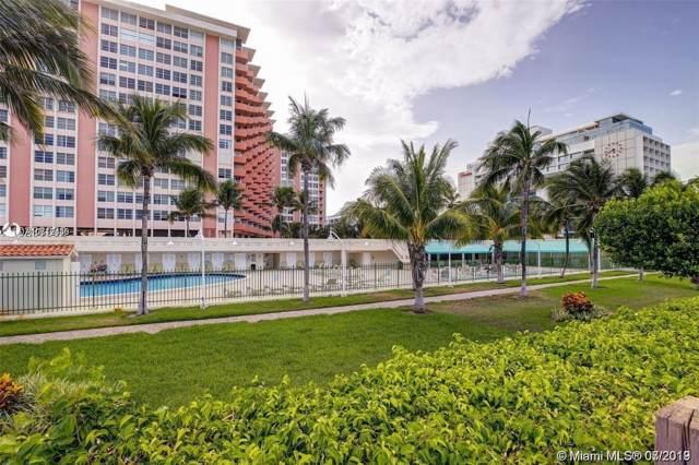 2899 Collins #524, Miami Beach, FL 33140 (MLS #A10712430) :: Green Realty Properties