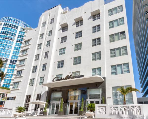 3739 Collins Ave N-407, Miami Beach, FL 33140 (MLS #A10716130) :: The Teri Arbogast Team at Keller Williams Partners SW