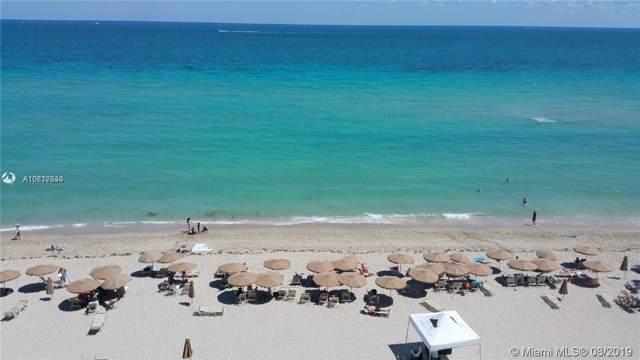 1830 S Ocean Dr #5012, Hallandale, FL 33009 (MLS #A10717530) :: The Riley Smith Group