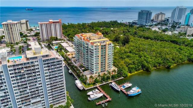 2845 NE 9th St #602, Fort Lauderdale, FL 33304 (MLS #A10719742) :: The Howland Group