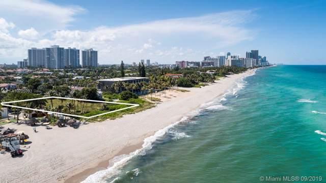 401 Ocean Blvd, Golden Beach, FL 33160 (MLS #A10725083) :: Ray De Leon with One Sotheby's International Realty