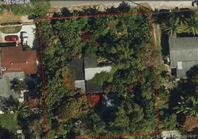 1460 NE 148th St, Miami, FL 33161 (MLS #A10728219) :: Grove Properties