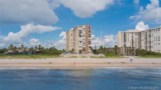 2000 S Ocean Blvd 6C, Lauderdale By The Sea, FL 33062 (MLS #A10728293) :: Grove Properties