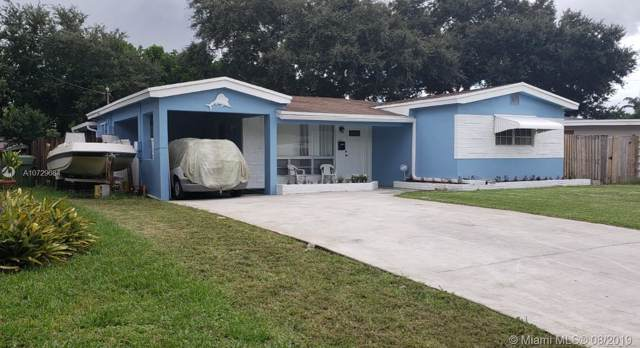 7021 SW 11th St, Pembroke Pines, FL 33023 (MLS #A10729684) :: The Rose Harris Group