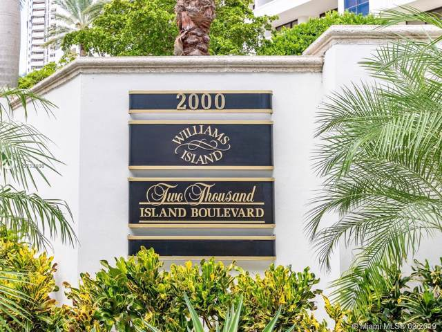 2000 Island Blvd #805, Aventura, FL 33160 (MLS #A10732408) :: The Riley Smith Group