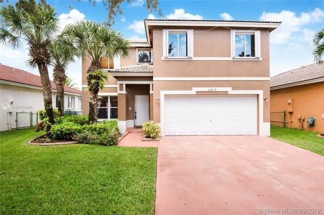 13419 SW 24th St, Miramar, FL 33027 (MLS #A10733388) :: Grove Properties