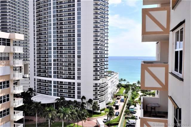 1865 S Ocean Dr 16D, Hallandale, FL 33009 (MLS #A10734980) :: Berkshire Hathaway HomeServices EWM Realty