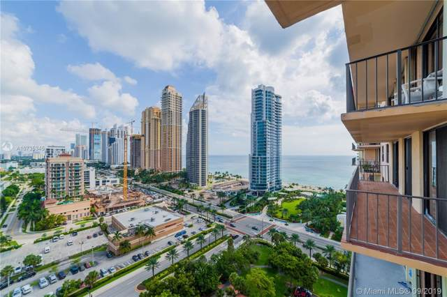 210 174th St #2116, Sunny Isles Beach, FL 33160 (MLS #A10735345) :: The Teri Arbogast Team at Keller Williams Partners SW
