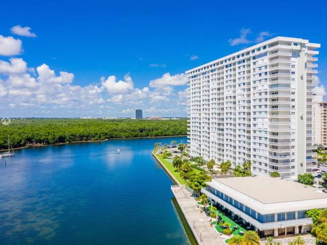 500 Bayview Dr #2021, Sunny Isles Beach, FL 33160 (MLS #A10735567) :: The Teri Arbogast Team at Keller Williams Partners SW