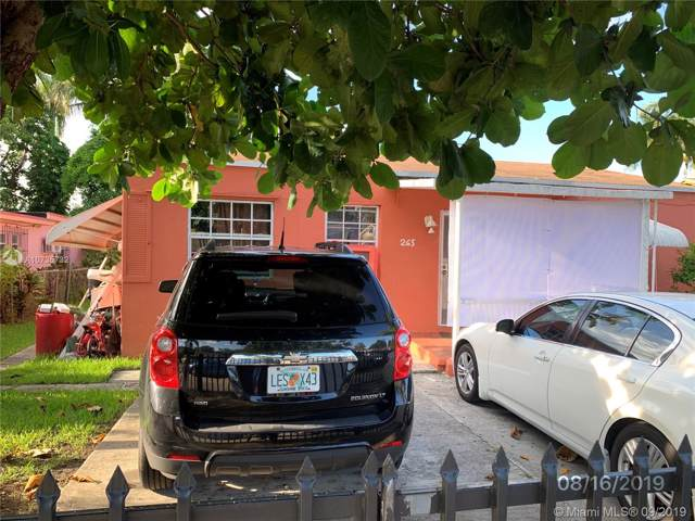 265 NW 82nd Ter, Miami, FL 33150 (MLS #A10735732) :: Albert Garcia Team