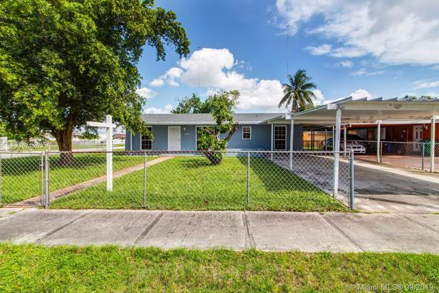 4021 NW 203 LANE, Miami Gardens, FL 33055 (MLS #A10736073) :: Berkshire Hathaway HomeServices EWM Realty