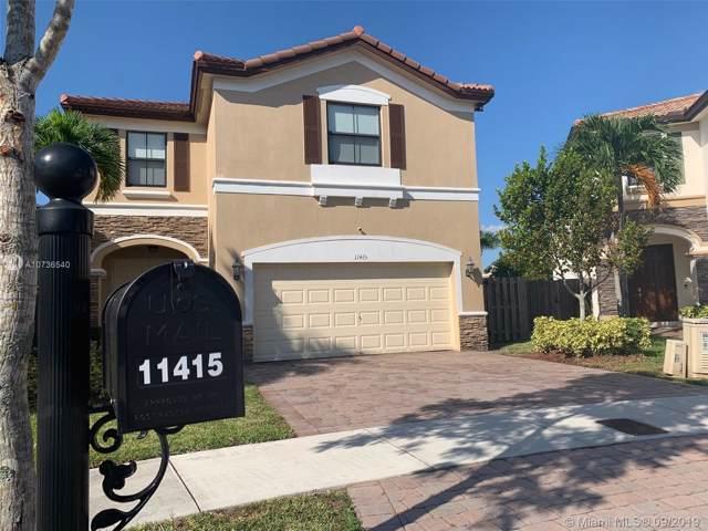 11415 NW 88th Ln, Doral, FL 33178 (MLS #A10736540) :: Berkshire Hathaway HomeServices EWM Realty