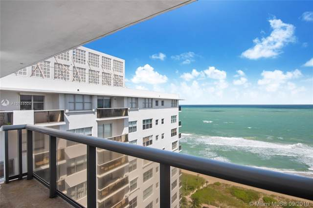 6039 Collins Avenue Ph19, Miami Beach, FL 33140 (MLS #A10744004) :: The Teri Arbogast Team at Keller Williams Partners SW