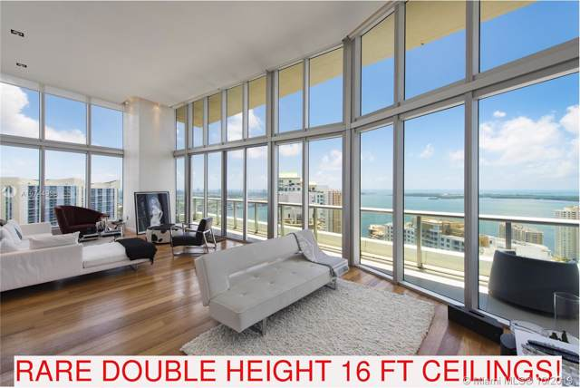 465 Brickell 4101Doublehigh, Miami, FL 33131 (MLS #A10744998) :: The Jack Coden Group