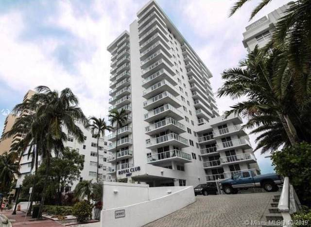 2457 Collins Ave #1705, Miami Beach, FL 33140 (MLS #A10750218) :: Grove Properties