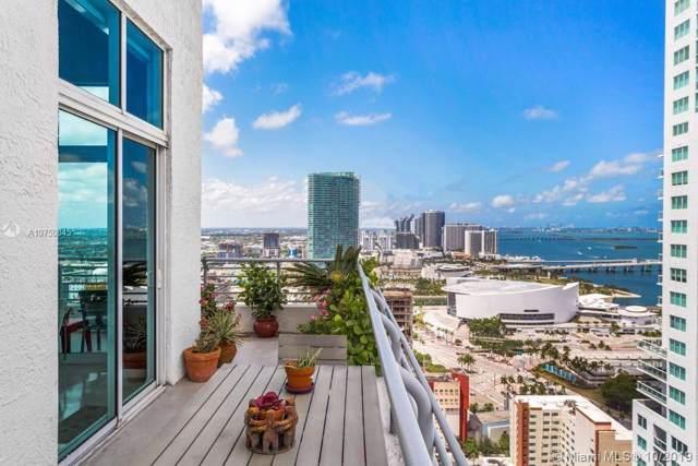 133 NE 2nd Ave #3501, Miami, FL 33132 (MLS #A10750845) :: Berkshire Hathaway HomeServices EWM Realty