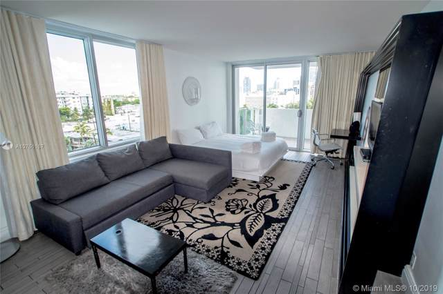 1100 West Ave #601, Miami Beach, FL 33139 (MLS #A10751167) :: Ray De Leon with One Sotheby's International Realty