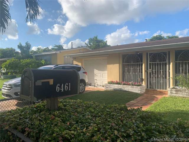 6461 SW 21st St, West Miami, FL 33155 (MLS #A10751172) :: Berkshire Hathaway HomeServices EWM Realty