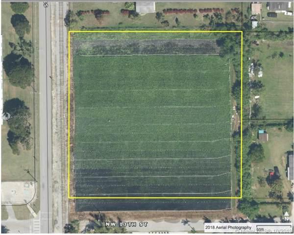 9XX NW 13 Street, Homestead, FL 33030 (MLS #A10751907) :: Berkshire Hathaway HomeServices EWM Realty