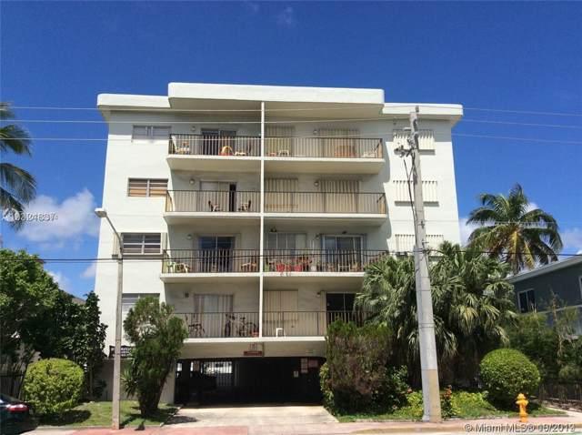 8250 Byron Ave #401, Miami Beach, FL 33141 (MLS #A10752364) :: Patty Accorto Team