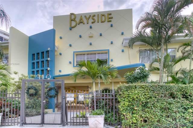 910 Bay Dr #23, Miami Beach, FL 33141 (MLS #A10753040) :: Green Realty Properties