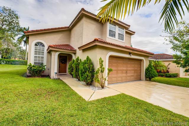 18393 NW 8th Street, Pembroke Pines, FL 33029 (MLS #A10753189) :: The Jack Coden Group